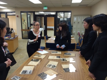 Michele Mason教授(Associate Professor in the Japanese Program, UMD) が日本国憲法について話しました。