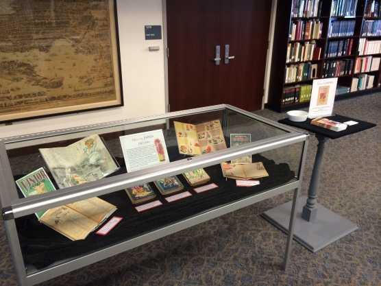 """""""Alice in Japan,"""" in display in the Maryland Room, Hornbake Library North"""