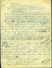 社會 (Prange Call No. S986) 9/15/1946 CCD文書