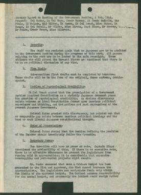 Summary Report of GS_19460206_1