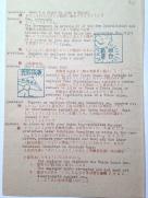 パンフレット2ページ目には、 労働組合法についての質疑応答と2つの挿絵が記載されている。